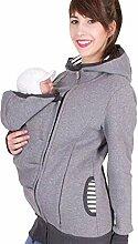 XYNL Frauen Kapuzenpullover Baby Carrier Jacke