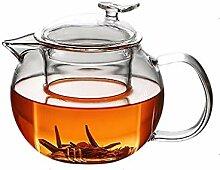 Xywh Teekanne tealounge Glaseinsatz Blase Teekanne