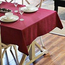 XYY Premium Stoff Tischdecke Restaurant/Einfache