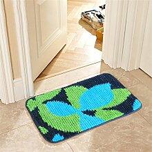 XYZ Anti-Rutsch-Teppich Wohnzimmer Schlafzimmer Bedside Staubpad Fußmatte Küche Bad Tragen Wasserabsorption Teppich exquisit ( farbe : B , größe : 45×120cm )