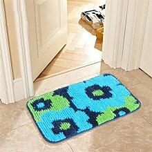 XYZ Anti-Rutsch-Teppich Wohnzimmer Schlafzimmer Bedside Staubpad Fußmatte Küche Bad Tragen Wasserabsorption Teppich exquisit ( farbe : E , größe : 45×120cm )
