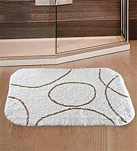 XYZ Baumwolle Verdickung Teppich Fortgeschritten Hotel Anti-Rutsch Eingangsmatte Küchenmatte Fußabtreter Wohnzimmer Teppich 75 X 50 Cm exquisi