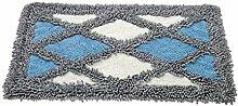 XYZ Kontinental Mats Pastoral Blumen Fußmatte Küche Salon Badezimmer Badteppiche Wasser Kufe Teppich exquisit ( farbe : E , größe : 50cm×80cm )