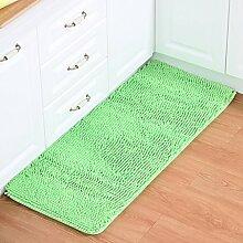 XYZ Küche-Teppich-Fußmatte Badezimmer-saugfähiger Auflage-rutschfester Matten-Wohnzimmer-Schlafzimmer-staubdichter Teppich exquisit ( farbe : I , größe : 60CM×90CM )