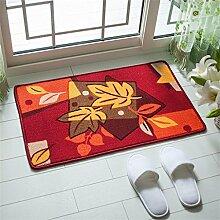 XYZ Salon Mats Fußabtreter Anti-Rutsch-Pad Küche Badezimmer Wasser Teppich exquisit ( farbe : B , größe : 48×78CM )