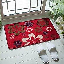 XYZ Salon Mats Fußabtreter Anti-Rutsch-Pad Küche Badezimmer Wasser Teppich exquisit ( farbe : C , größe : 78×118CM )