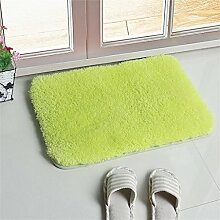 XYZ Salon Mats Fußabtreter Einlegesohle Schlafzimmer Nacht Mats Küche Badezimmer Kufe Wasser Teppich exquisit ( farbe : A , größe : 60*90cm )