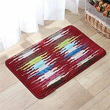 XYZ Super Anti-Rutsch-Wasserabsorption Teppich Indoor Doormat Bad Badezimmer Teppich exquisit ( farbe : B )