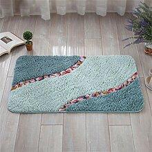 XYZ Superfine Faser Rose Mats Fußmatte Küche Salon Badezimmer Badezimmer Kufe Wasser Teppich exquisit ( farbe : D , größe : 40*60cm )