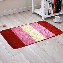 XYZ Tragen Mats Fußabtreter Küche Badezimmer Salon Badezimmer Kufe Teppich exquisit ( farbe : D , größe : 50*80cm )