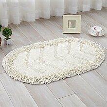XYZ Tragen Mats Fußmatte Küche Badezimmer Badteppiche Salon Wasser Kufe Teppich exquisit ( farbe : C , größe : 45cm×70cm )