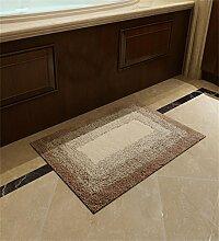 XYZ Umweltschutz Tragen Mats Fußabtreter Badezimmer Saugkissen Schlafzimmer Maschinenwaschbar Einfache, Moderne Teppich exquisit ( farbe : C , größe : 50*80CM )