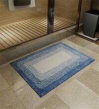 XYZ Umweltschutz Tragen Mats Fußabtreter Badezimmer Saugkissen Schlafzimmer Maschinenwaschbar Einfache, Moderne Teppich exquisit ( farbe : A , größe : 40*60cm )