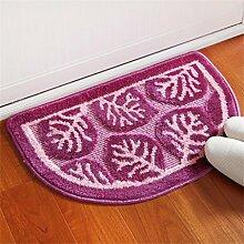 XYZ Wear Teppich Wohnzimmer Schlafzimmer Bedside Staubauflage Küche Fußmatte Badezimmer Wasserabsorption Anti-Rutsch-Teppich exquisit ( farbe : A , größe : 40X63cm )