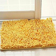 XYZ Wohnzimmer Teppich Schlafzimmer Nachttisch Küche Fußmatte Badezimmer Wasserabsorption Anti-Rutsch-Teppich exquisit ( farbe : F , größe : 40x60cm )