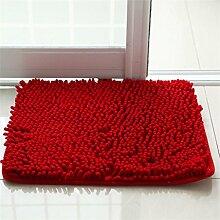 XYZ Wohnzimmer Teppich Schlafzimmer Nachttisch Küche Fußmatte Badezimmer Wasserabsorption Anti-Rutsch-Teppich exquisit ( farbe : D , größe : 40x60cm )
