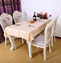 XYZG Küchentischabdeckung für Tischdecke Runder