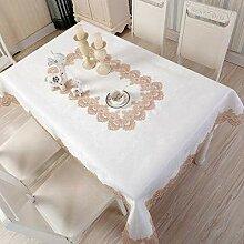 XYZG Küchentischabdeckung für Tischdecke Spitze
