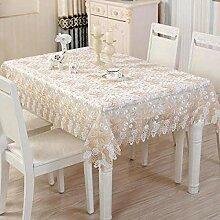 XYZG Tischdecke Tischwäsche Lace Fabric