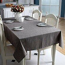 XYZG Tischdecke Tischwäsche