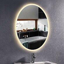 XYZX Wandbehang Kosmetikspiegel Oval Spiegel