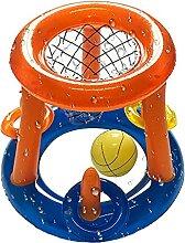Xzbling Aufblasbarer Basketballständer,