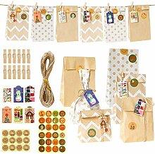 Xzbnwuviei Back-Geschenktüten-Set