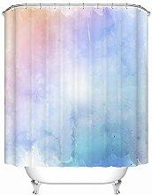 XZDW Duschvorhang 3D Print Hd Shower Curtain