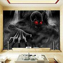 XZDXR Großhandel Schädel Skeleton Wandbild