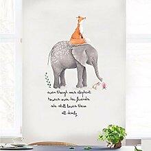 Xzfddn Nette Fox Elefant Cartoon Tier