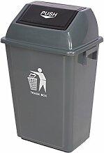 XZG Outdoor Mülleimer, groß mit Abdeckung