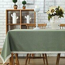 XZX Home Einfache Polyester-Baumwoll-Tischdecke , 140*180