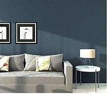Xzzj Simple Plain Seidentapeten Farbe Tv Hintergrund Tapete Blau Grün Wohnzimmer Schlafzimmer Kinderzimmer, Besitz von Blau