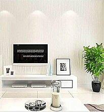 Xzzj Vlies Tapete Schlafzimmer Minimalistischen Streifen Shop Wohnzimmer Hintergrundbild Auf Den Mond, Dicken Moonlight Weiß