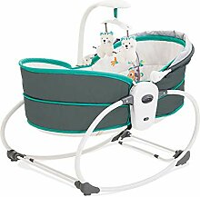 Y-BBouncer 5-In-1-Babywippe, Tragbare Babywiege