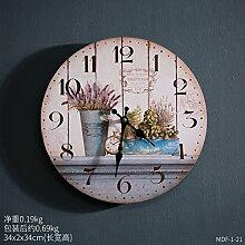 Y-Hui Industrial Air Uhren Wanduhr mit der Uhr
