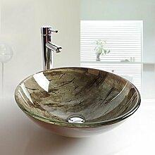 Y&M Bad Waschbecken,Runde zeitgenössische Bad