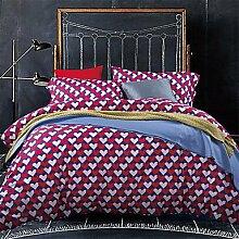 Y&M Luxus Ägypten Baumwolle 4PC Bettdecke