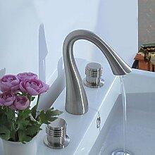 Y&M Wasserhahn,Zeitgenössisch Mittellage Zwei