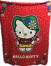 y P: OS Hello Kitty Fleece-Decke - Kuscheldecke -