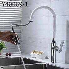 Y40069 Einhandmischer/Küchenarmatur, ausziehbar,