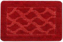 Ya1ya 38X58cm, rot Home Carpet Dekoration