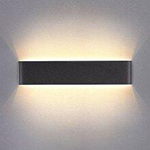 Yafido Wandleuchte Innen LED 40CM Wandlampe Up