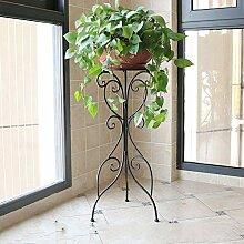 YAHAO Blumenständer Metall Pflanzenregal Für
