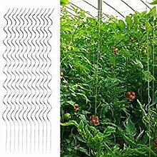 Yahee 20 X Tomatenspiralstab Tomatenstab Pflanzstab Pflanzenhilfe Stahl 180cm