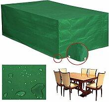 Yahee Abdeckung Gartenmöbel Schutzhülle für Gartentisch und Stühle Wasserdicht Möbel Abdeckhaube (M-205 x 145 x 70 cm)
