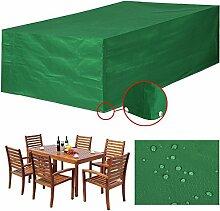 Yahee Möbelschutzhülle Möbelabdeckung Schutzhülle Wasserdicht 205x145x70cm grün