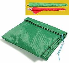 Yahee Schutzhülle für Sonnenschirme und Wäschespinnen Schirm Schutzhaube 199 x 30 cm