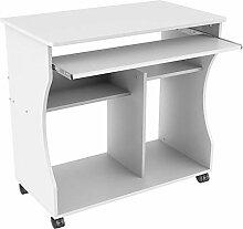 Yaheetech Computerschreibtisch Schreibtisch