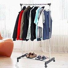 Yaheetech Garderobenständer Kleiderständer
